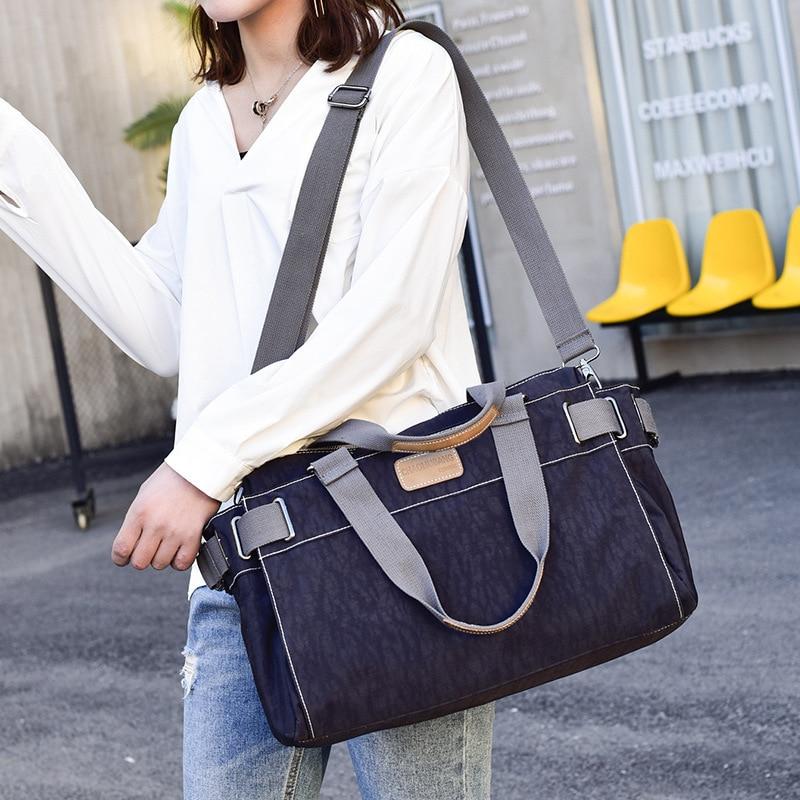 Nouveau sac à main de mode japon et corée du sud dame sac de voyage à la mode décontracté dames épaule Portable sac à bandoulière