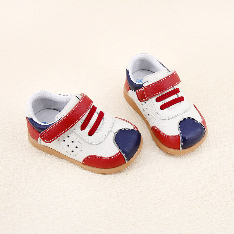 Boys Casual Shoes Genuine Leather Kids Shoes 2018 Spring New Childrens Shoes Baby Sports Shoes Children tenis infantil
