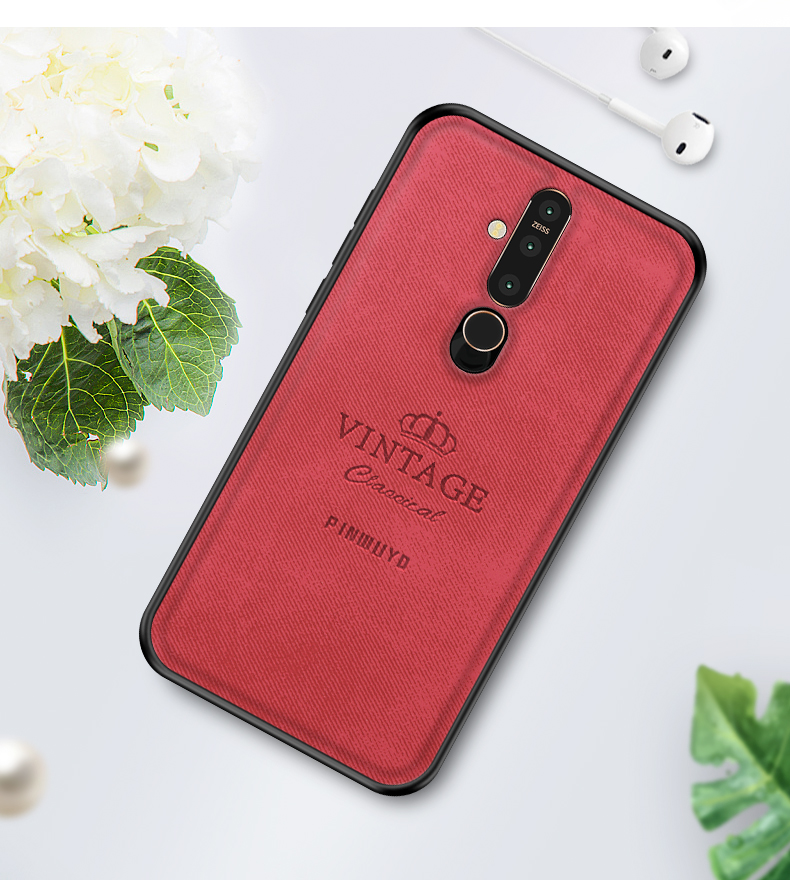 For Nokia X71 100 Original PINWUYO VINTAGE PU Leather Protective Phone Case for Nokia X71 Shockproof Case in Half wrapped Cases from Cellphones Telecommunications