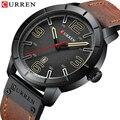 Curren Роскошные, брендовые аналоговые военные деловые наручные часы с датой Мужские кварцевые часы мужские s часы Relogio Homem Relogio Masculino