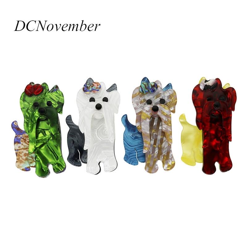 DCNovember Vintage 4 кольори Усті з собакою - Модні прикраси