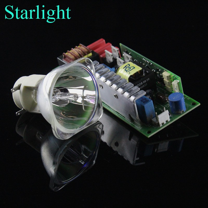 Starlight 7R 230W Metal Halide Lamp moving beam lamp with 230W power supply battery ballast
