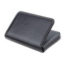 Чехол для визитных карточек, защитный чехол, Винтажный Мужской кошелек из искусственной кожи для карт, изысканный Привлекательный чехол для карт для мужчин# YL5