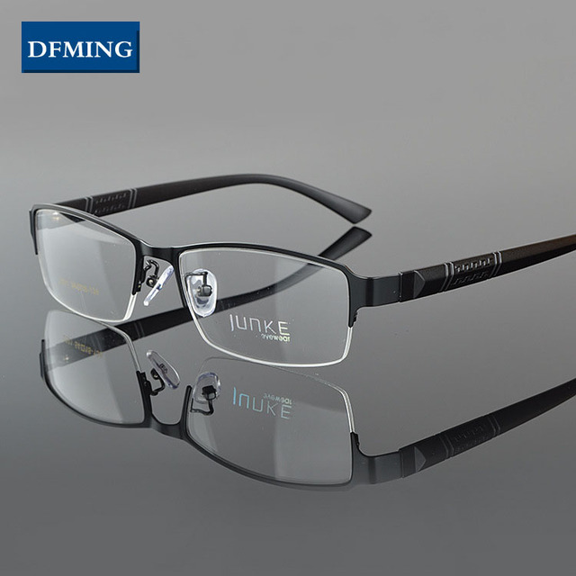 ea0423a91ac DFMING New type eye glasses frame men women eyeglasses fashion myopia  optical glasses frame women prescription glasses men brand