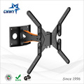 CNXD Modern  Black Metal Full Motion LED Screen TV Wall Mount Suitable TV Size 25''32''37''42''43''46''47''50''52''