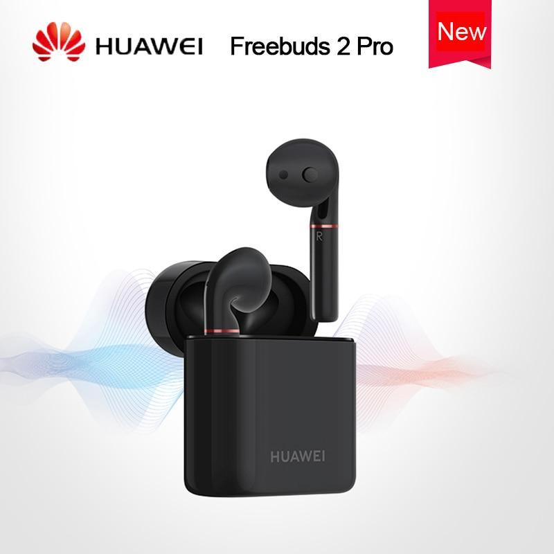 Huawei Freebuds 2 PRO Bluetooth Headset with IP54 Level Waterproof Bone Voiceprint ID Earphone for Huawei
