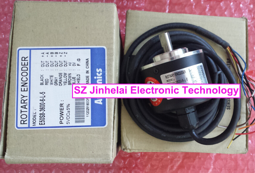 все цены на 100% New and original E50S8-3600-6-L-5 AUTONICS Pulse encoder Rotary encoder онлайн