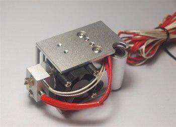 DIY UM2 + Ultimaker 2 Genişletilmiş + Artı V6 Özel Montaj tam kiti metal montaj tutucu PT100B sensörü alüminyum alaşımlı