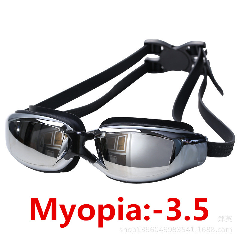 Men Women Arena Water Glasses Professional Training 100% UV Swim Goggle Waterproof Anti-Fog HD Sight Myopic Swimming Glasses