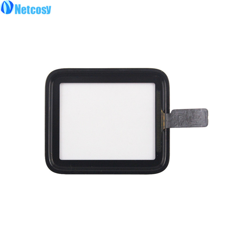 Netcosy 38mm 42mm Touch Screen Digitizer Glass Lens Panel For Apple Watch series 2 Series 3 38mm 42mm TouchScreen Repiar parts