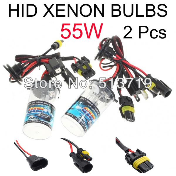 Auto HID Xenon Bulb Car Bixenon DRL Headlight Fog Light Parking External Light Source H4 H1 H3 H7 H11 H8 H9 HB3 HB4 9005 9006 9005 hb3 9006 hb4 7 5w high power cob led bulb car auto light source projector drl fog headlight lamp white yellow