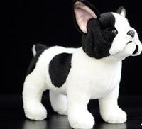 French bulldog doll cute dog doll simulation Standing dog plush toys 26 cm