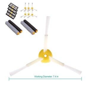 Image 2 - Próżniowe części do czyszczenia 14 sztuk akcesoria do iRobot Roomba 880 860 870 871 980 990 uzupełnianie części zamienne zestaw pędzli