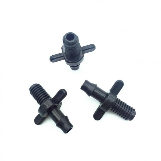 500 PCS Threaded Connectors 4/7 Mm Hose Connection Screw Thread 6mm Can Be  Installed