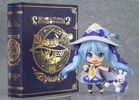 2014 NEW GSC Nendoroid Hatsune Miku Yuki Miku Magical snow ver PVC Action Figure Colletion Model Toy Doll