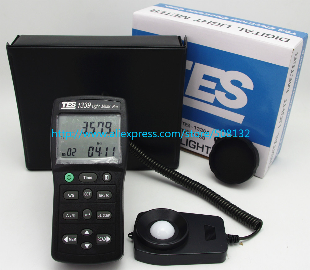 Tes 1339 Digital Lux Light Meter Tester 001 To 999900 Earth Hi Hioki 3151 Autorangingtes1339 In Multimeters From Tools On Alibaba Group