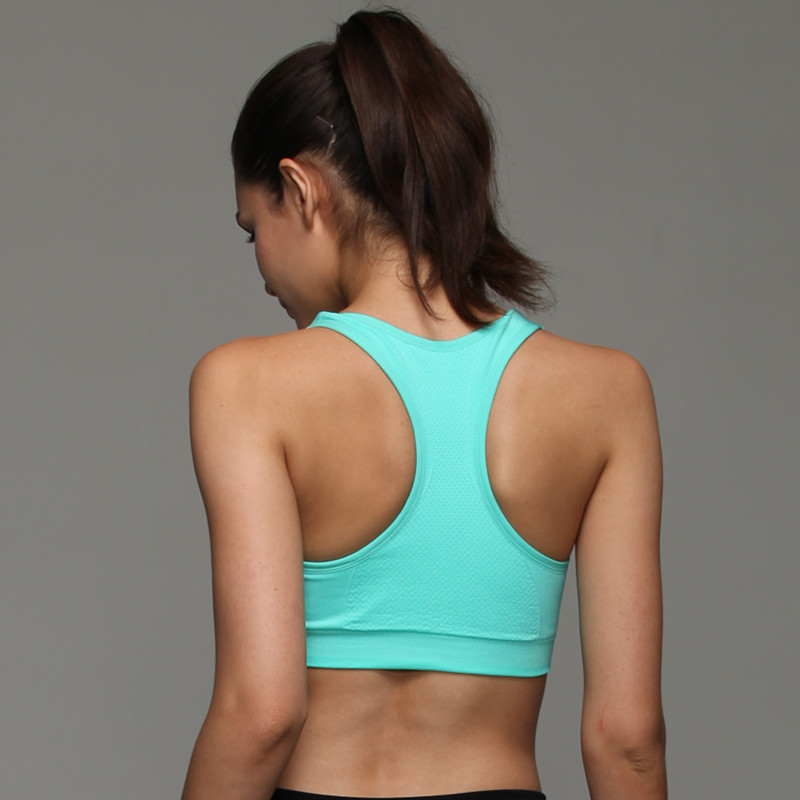 2681cadaf9d3b HTLD Seamless Push Up Bras With Pad Fitness Bralette Tank Tops Workout  Shockproof Bras For Women Crop Tops Sutia Soutien gorge-in Bras from  Underwear ...