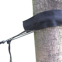 250kg Black Adjustable High Strength Hanging Hammock Tree Sling Straps