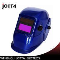 Blau Auto verdunkelung schweiß helm/gesicht maske/Elektrische schweißer maske/kappe für die schweiß maschine