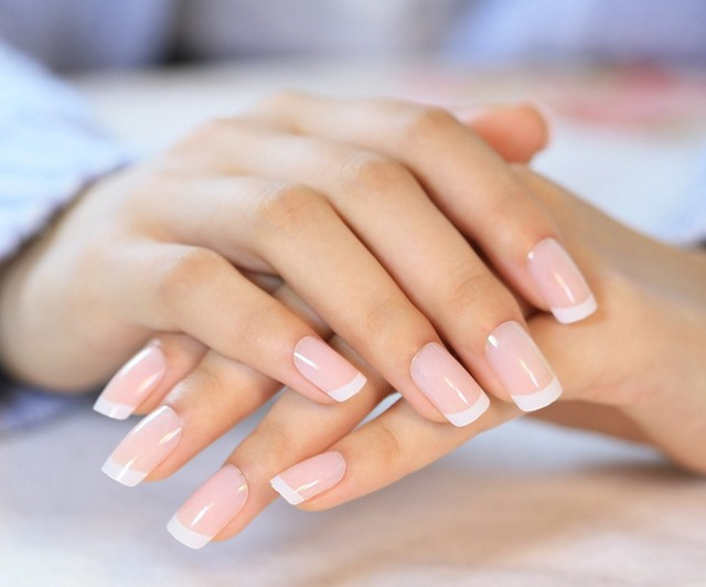 French natural nude color false nail art tips glitter full fake french natural nude color false nail art tips glitter full fake nail art decorations press on prinsesfo Images