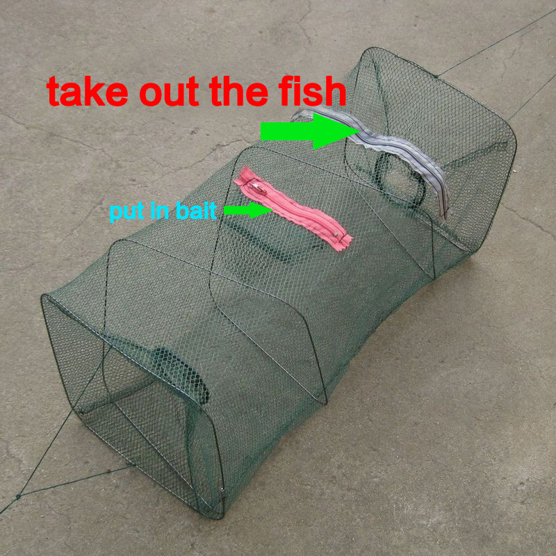 Hot selling catch fish Foldable Crab Fish Pot Crawdad