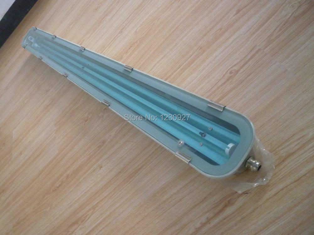 Single T8/T10 150cm/5ft IP65 led Tube stainless steel light fixture led lamp base цена