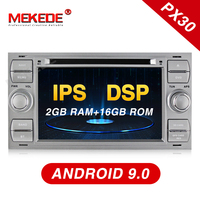 MEKEDE IPS screen Car Multimedia Player DVD Android 9.0 2 Din For Ford/Mondeo/Focus/Transit/C MAX Car Radio BT DVR Autoradio DSP