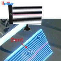 Destaque usb placa da lâmpada pdr placa de reflexão com suporte ajustável pdr luz ferramenta