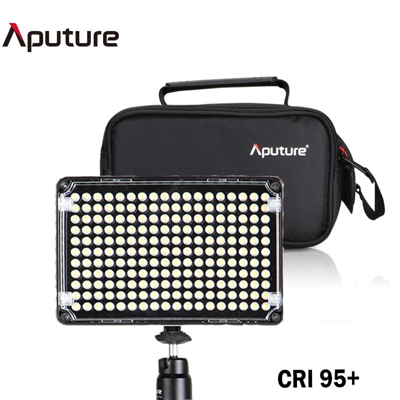Aputure Amaran AL-H198C LED Video Light Color Temperature Adjustment 3200K-5500K Studio Lighting for Canon Nikon Sony Camcorder