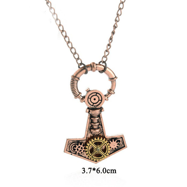 Gems of the Bay- Steampunk Necklaces in 12 Styles