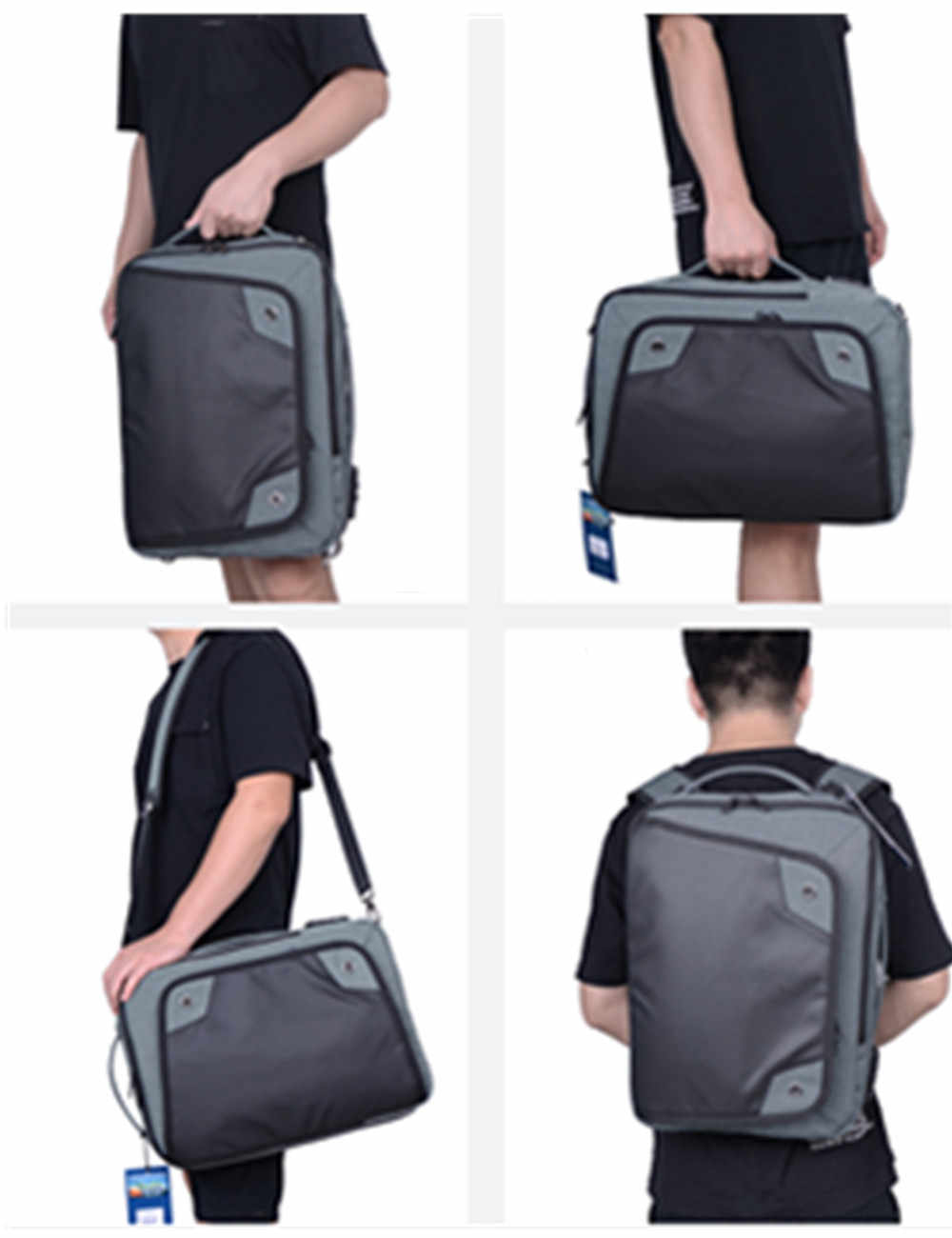 New Backpack Waterproof Casual Shoulder Bag Multi-function Travel Bag Password Lock Anti-theft Backpack