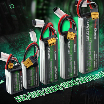 SoloGood Lipo Battery 2S 3S 4S 7.4V 11.1V 14.8V 550mAh 850mAh 75C Rechargeable with XT30 XT60H XT60 Plug for Racing Drone Toy new original rechargeable zop power 11 1v 5400mah 3s 20c lipo battery xt60 plug