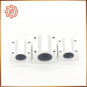 Image 3 - Sc16uu 4pcs SC16UU SCS16UU Linear motion ball bearings cnc parts slide block bushing for 16mm linear shaft guide rail CNC parts