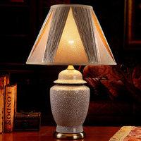 TUDA 2017 Ceramic Table Lamp Top Grade Luxurious Bedroom Bedside Lamp Household Lamp Ornaments