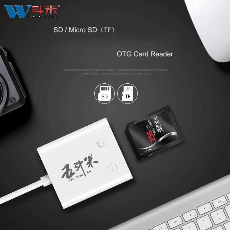 USB OTG Card Reader Micro USB OTG TF/SD Card Reader Camera Phone Extension Header iFlash Drive Adapter For Smartphone Tablet