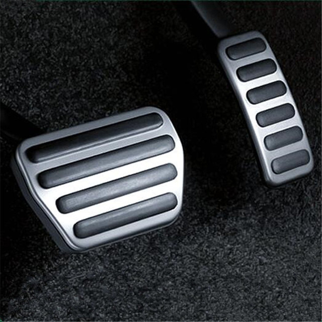Eazyzking Car Styling Gas Foot Brake Pedal Accelerator Footplate Case For Land Rover Range Sport 2017 2016