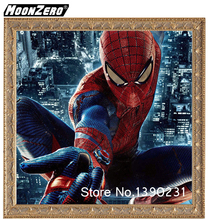 2018 new extraordinary Spider-man fashion 5D Diy diamond full square or round mosaic gift home decor embroidered