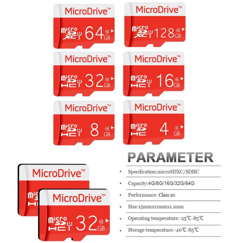 HOT Memory Card 256GB 128GB 64GB 32GB Micro sd card Class10 UHS-1 flash card Memory Micros