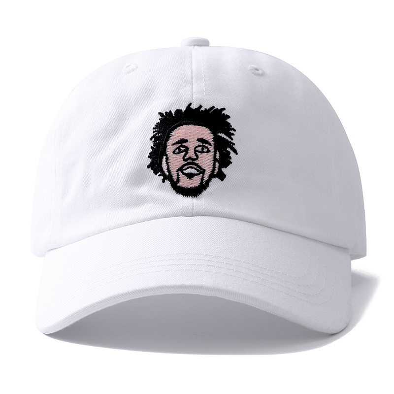 J.Cole Hip Hop Dreadlock Men Snapback   Cap   Cotton   Baseball     Cap   For Adult Men Women Dad Hat Bone Gorra Dropshipping