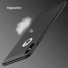 Luxury Breath Phone Case For iPhone X 7 6 6s Ultra Thin Coque Fundas Hard PC Cover Case For iPhone X 10 7 6 s 6s Plus Capinhas цена