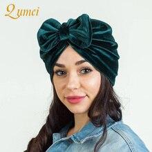 Женская шапка тюрбан, индийская Кепка, мусульманские шляпы, Hairnet, шапки Хемо шляпка с цветком, бант, химиотерапия шляпа, шапка, шарф, тюрбан, повязка на голову