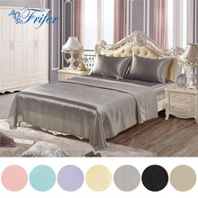 Imitation Satin Silk Bedding Sets Bed Set Bedclothes Children Bed Duvet Cover Sheet Bedspread Pillowcase Twin Queen King US Size