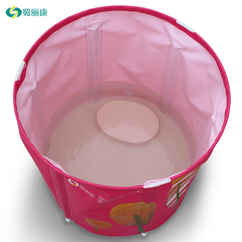 Adult PVC Portable Folding Inflatable Thicker Bath Tub with Air Pump ...