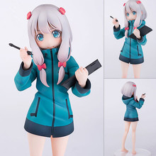 лучшая цена NEW hot 20cm Izumi Sagiri Eromanga Sensei action figure toys collection Christmas gift doll
