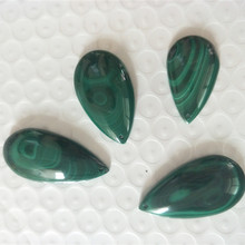 Congo Natural Malachite Pendant Water Drop Type