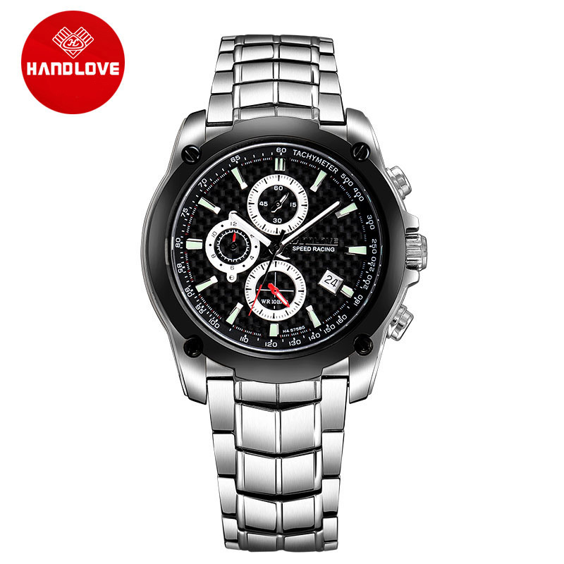 High Quality Fashion Chronograph Men s Watches Luminous Multi functional Sports Watch Waterproof H4 5758G