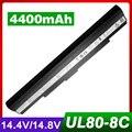 4400 мАч аккумулятор для Ноутбука Asus A42-UL30 A42-UL50 A42-UL80 UL30 UL30A UL50 UL80 UL50Vt UL50Vg UL50VS UL80Ag UL80Vt