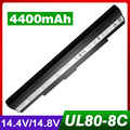 4400 mah batería del ordenador portátil para asus a42-ul30 a42-ul50 a42-ul80 ul30 ul30a ul50 ul50vg ul50vs ul50vt ul80 ul80ag ul80vt-a1