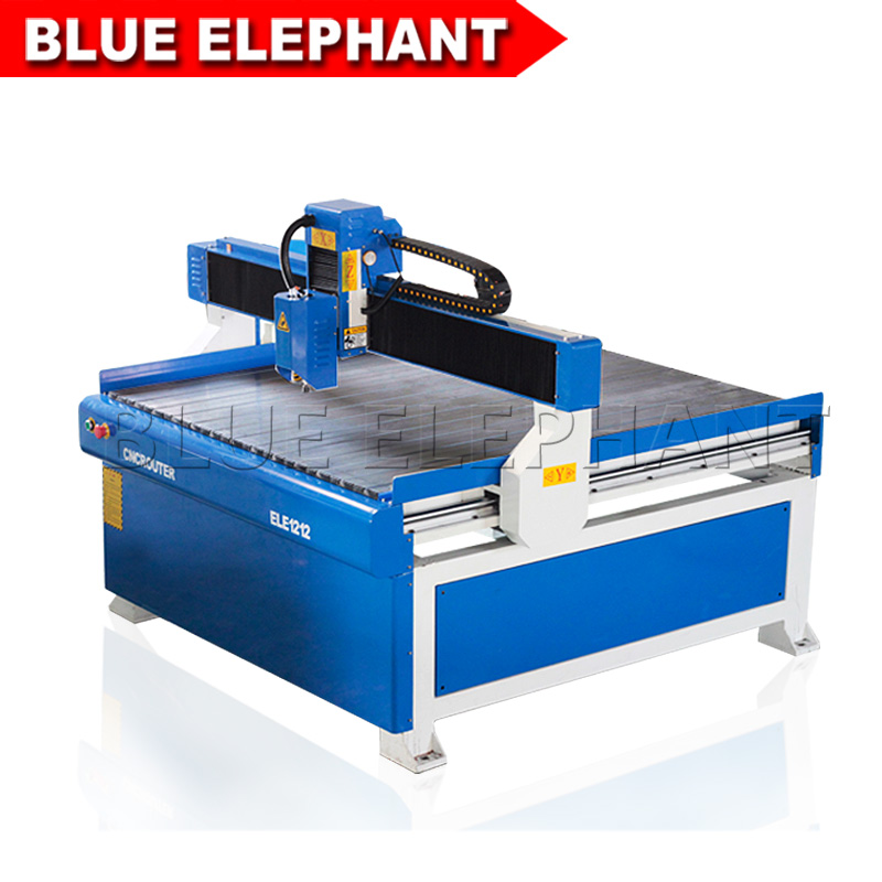 Blue Elephant 1200*1200MM Bed CNC Router/ 1.5kw, 2.2kw Water Cooling System CNC Machine/T-slot Table CNC Milling Machine bed making tools