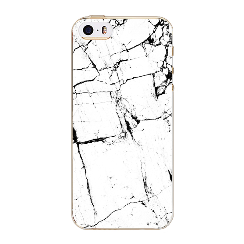 Phone Cases For Apple Iphone 5 5s Fashion Styles Marble Solid Color